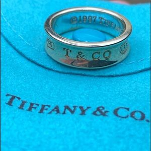 Tiffany & Co. 1997 Sterling Silver ring